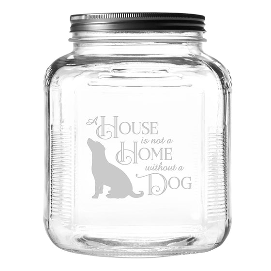 House Home Dog Pet Food and Treat Jar - Premier Home & Gifts