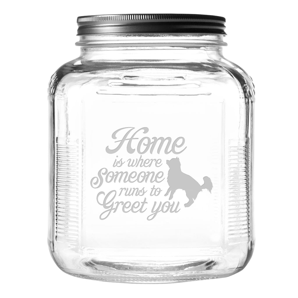 Greet You Pet Food and Treat Jar - Premier Home & Gifts