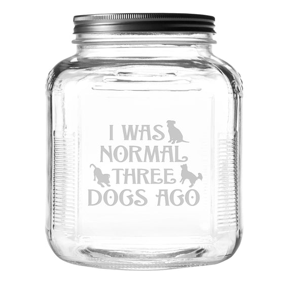 Three Dogs Ago Pet Food and Treat Jar  - Premier Home & Gifts
