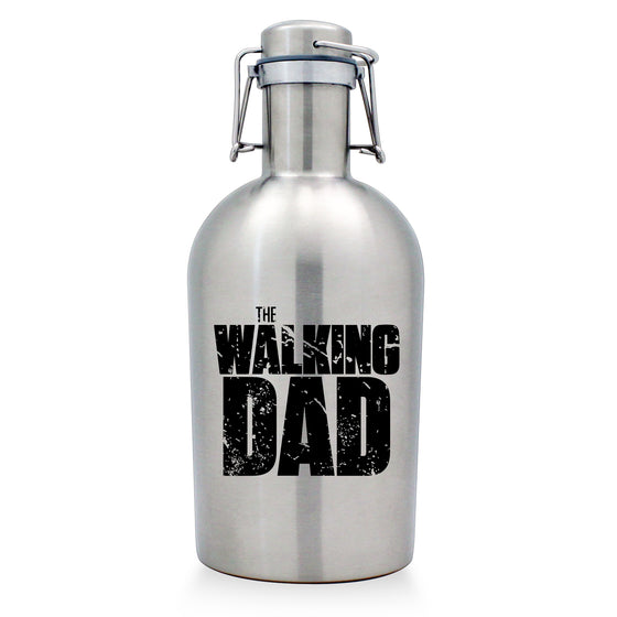 The Walking Dad Stainless Growler - Father's Day Gifts - Gifts for Dad