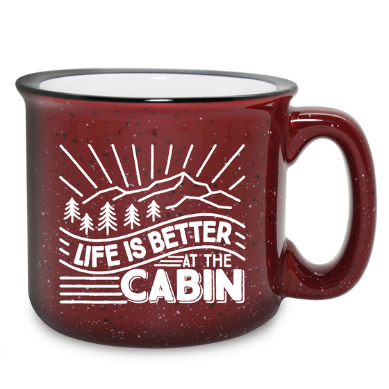 At the Cabin Camping Mugs - Gifts for Campers - Gifts for the Cabin