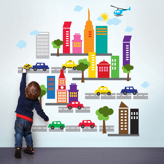 City Wall Decals