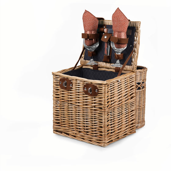 Vino Wine Basket - Navy