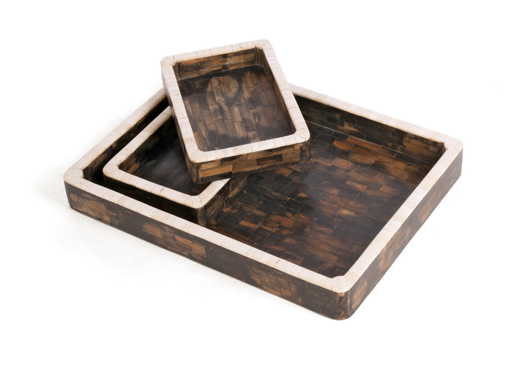 Stanfield Bone Trays - Set of 3