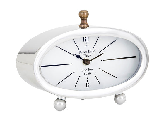 London Retro Desk Clock - Premier Home & Gifts