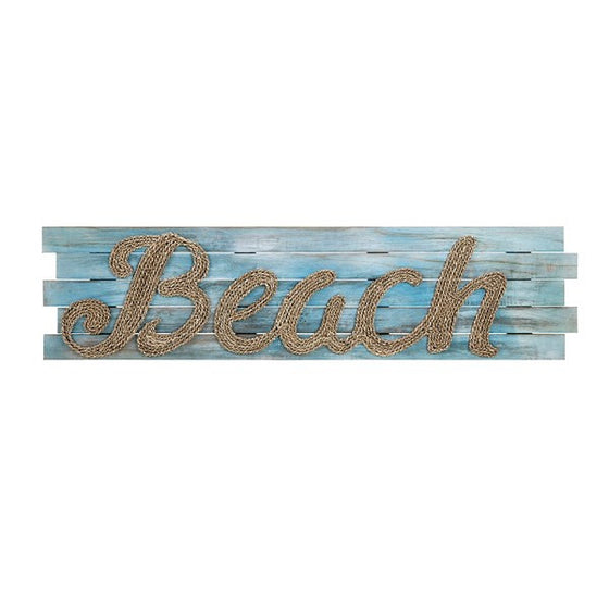 Beach Seagrass Woven Wall Decor - Ocean Wall Art Coastal Art Beach Seagrass Art