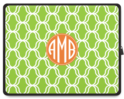 Lattice Monogram Laptop Case - Ark