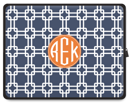 Links Monogram Laptop Case - Ark