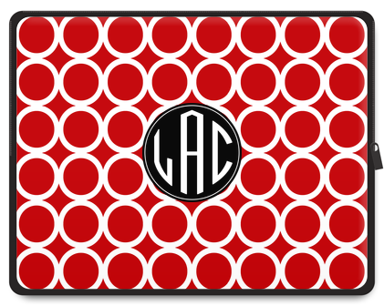 Hoopla Monogram Tablet Case - Ark