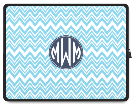 Zig Zag Monogram Tablet Case - Ark