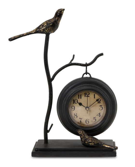 Birds and Branch Hanging Clock - Premier Home & Gifts