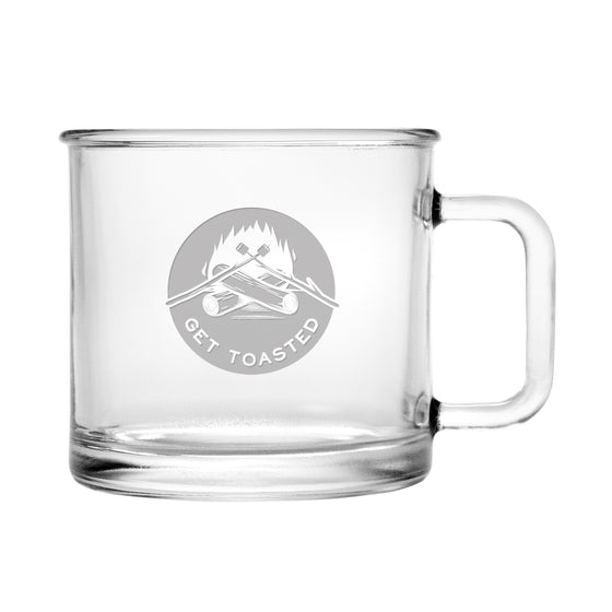 Get Toasted Camping Mugs - Gifts for the Lake Home - Cabin Gifts