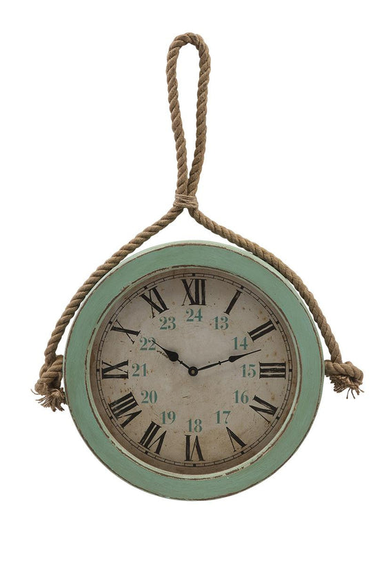 Coastal Rope Wall Clock - Premier Home & Gifts