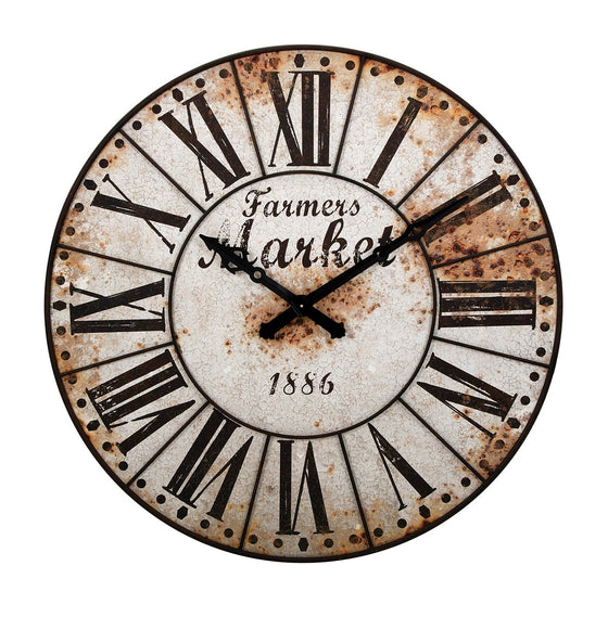 Farmers Market Wall Clock - Premier Home & Gifts