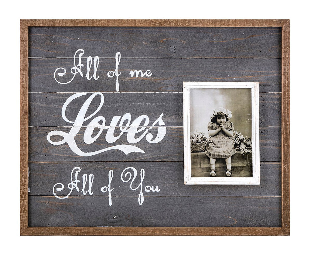 All of Me Wall Picture Frame - Photo Frame Romantic Gifts
