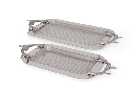 Antler Trays - Set of 2