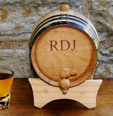 Mini-Oak Wine Barrel Cask ~ Personalized