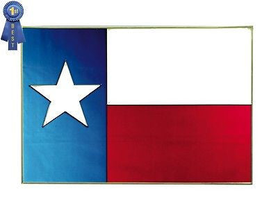Texas State Flag Stained Glass Art