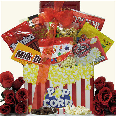 Gourmet Movie Gift Basket - Premier Home & Gifts