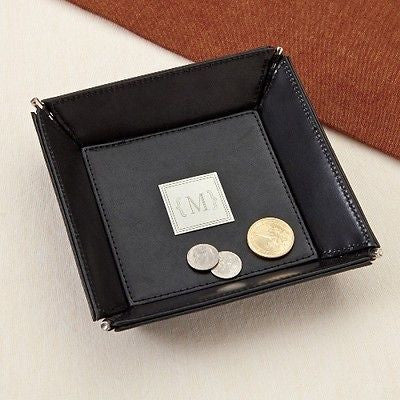 Leather Coin/Jewelry Tray