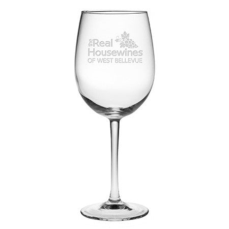 The Real Housewines Wine Glasses ~ Set of 4 ~ Personalized