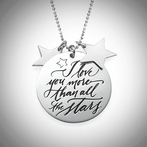 More Than All The Stars Necklace - Sterling Silver