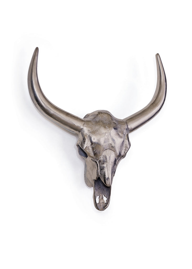 Timber Steer Head Wall Decor