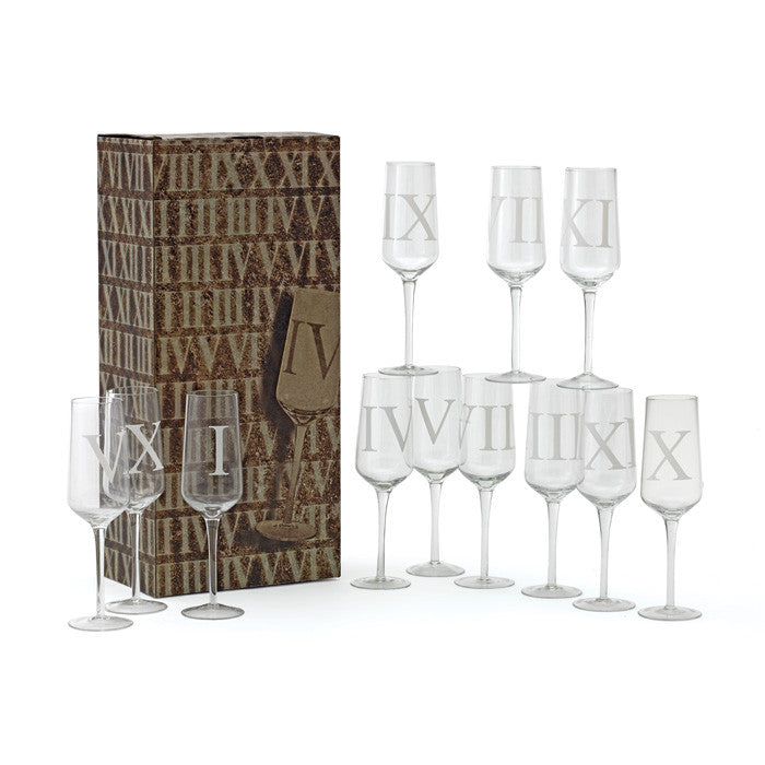 Upton Champagne Flutes ~ Set of 12