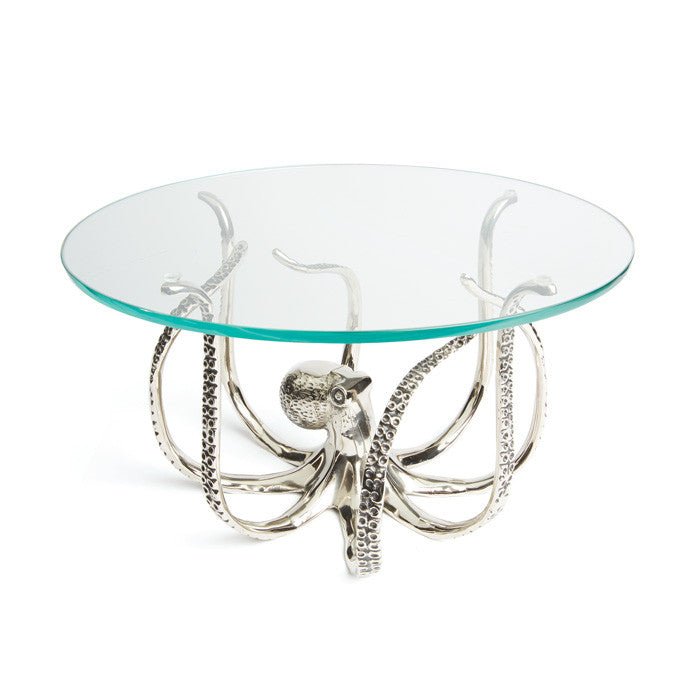 Octopus Glass Cake Stand - Premier Home & Gifts