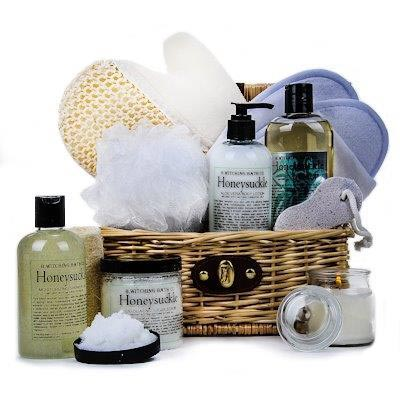 B. Witching Honeysuckle Spa Gift Basket - Gift Baskets for Her