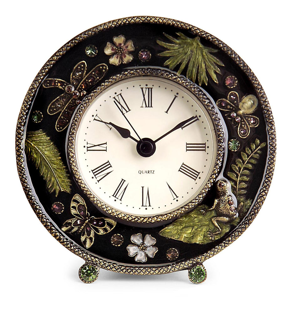 Garden Jeweled Clock - Premier Home & Gifts