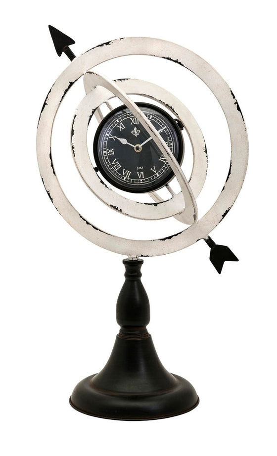 Armillary Sphere Clock - Premier Home & Gifts