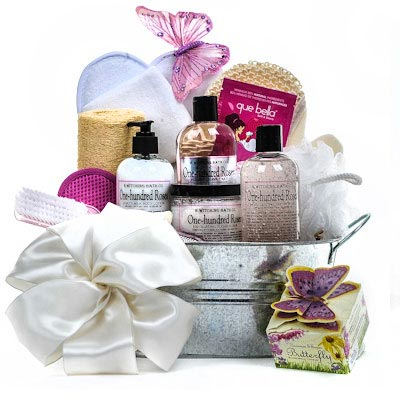 B. Witching Roses Spa Gift Basket - Gift Baskets for Her