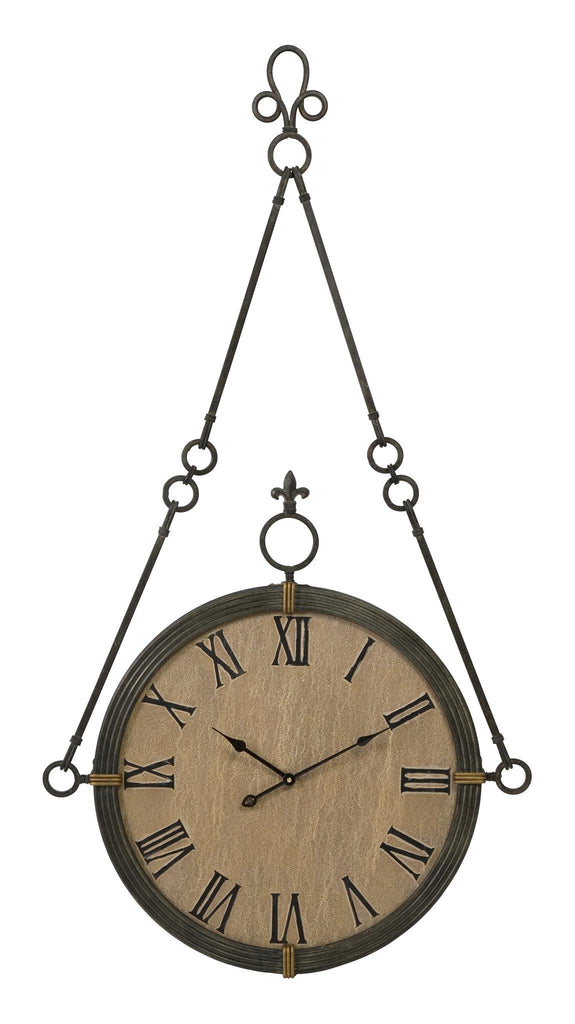 Boursin Iron Wall Clock - Premier Home & Gifts