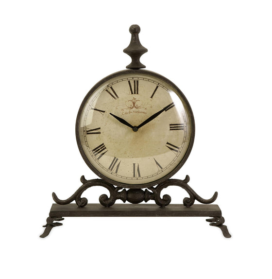 Bistro Cafe Iron Table Clock - Premier Home & Gifts