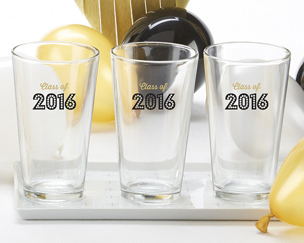 Class of 2016 Pint Glasses Set of 4