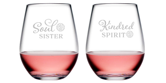 Kindred and Soul Tritan™ Shatterproof Stemless Tumblers - Gifts