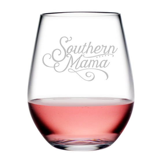Southern Mama Tritan™ Shatterproof Stemless Tumblers