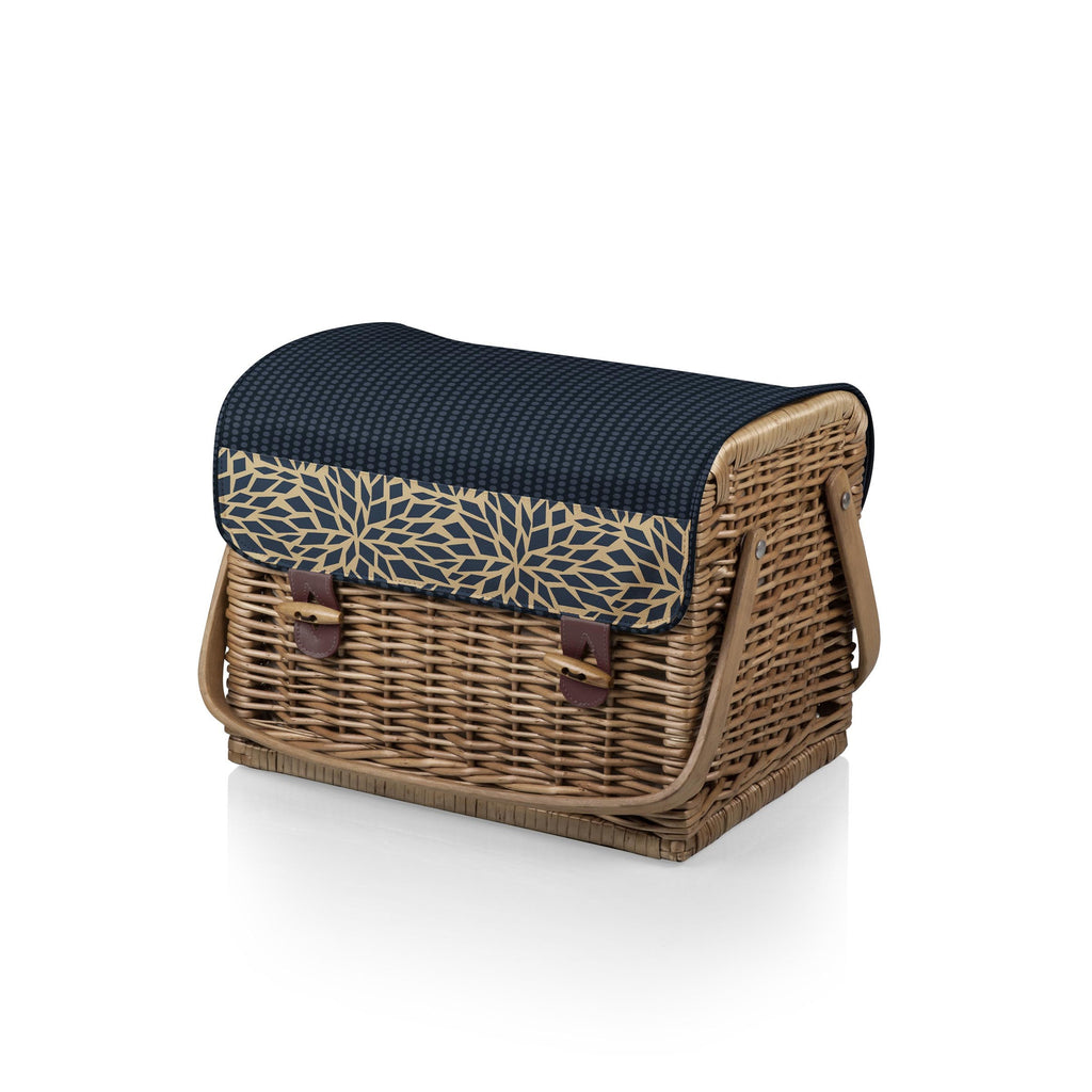 Kabrio Wine and Cheese Picnic Basket - Dahlia | Premier Home & Gifts