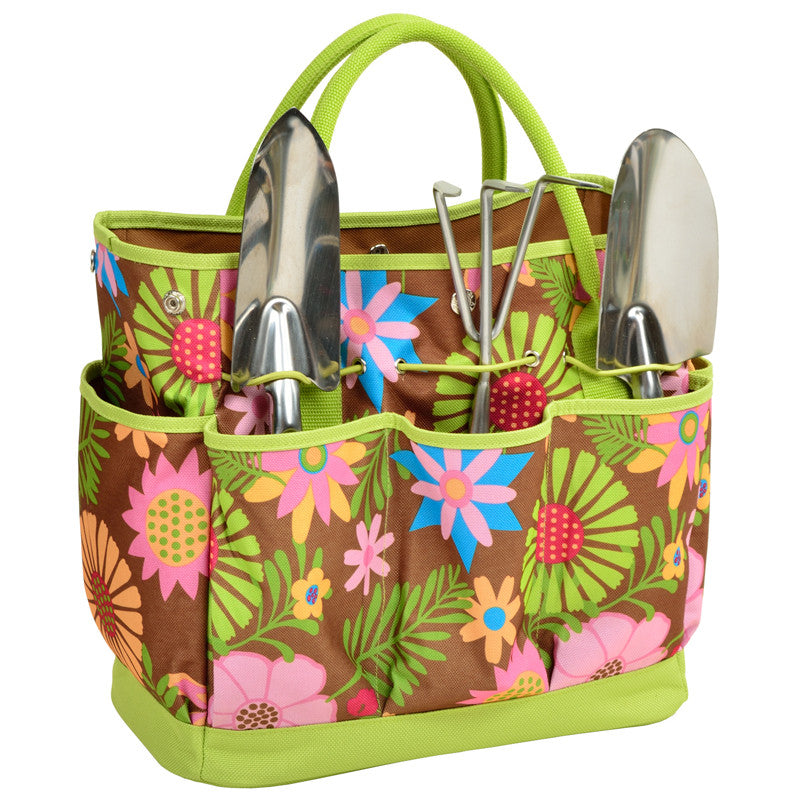 Garden Tote - Floral - Premier Home & Gifts