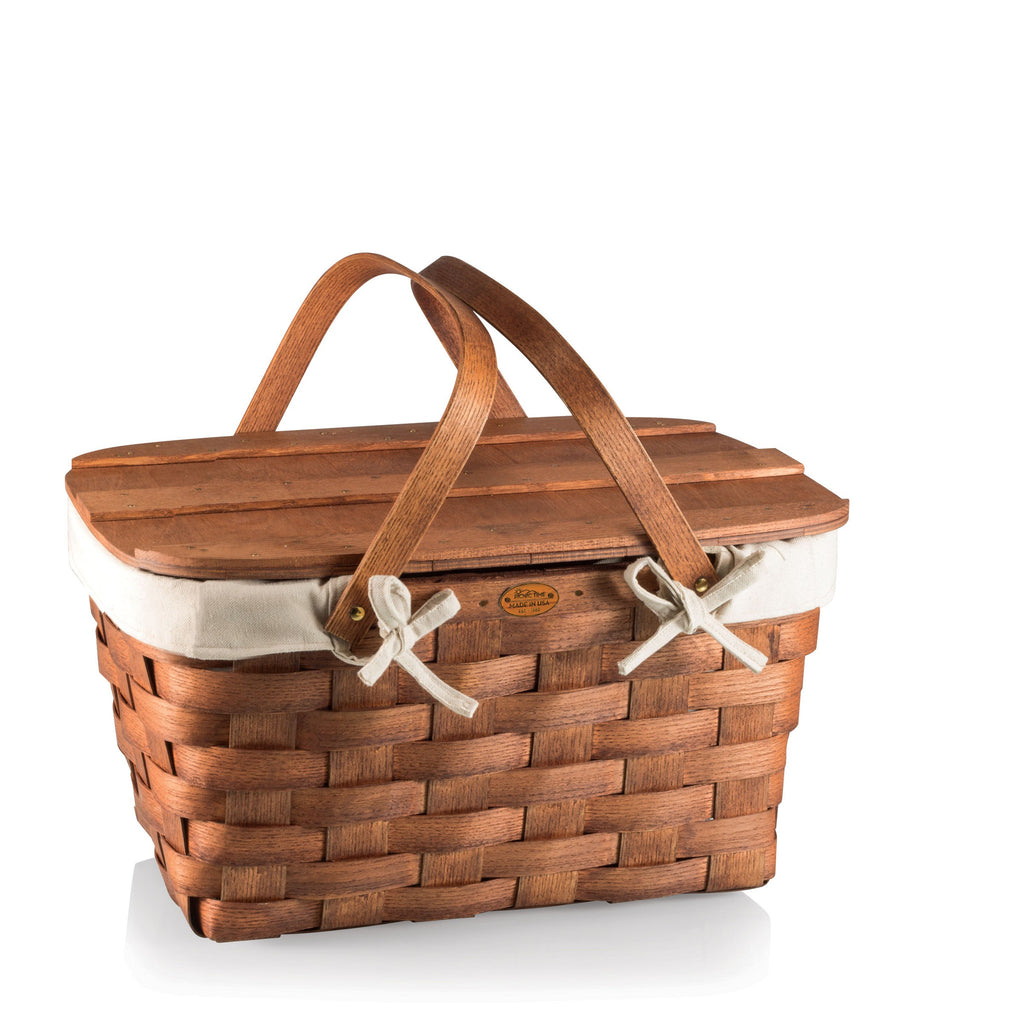 Traditional Prairie Picnic Basket - Lined | Premier Home & Gifts