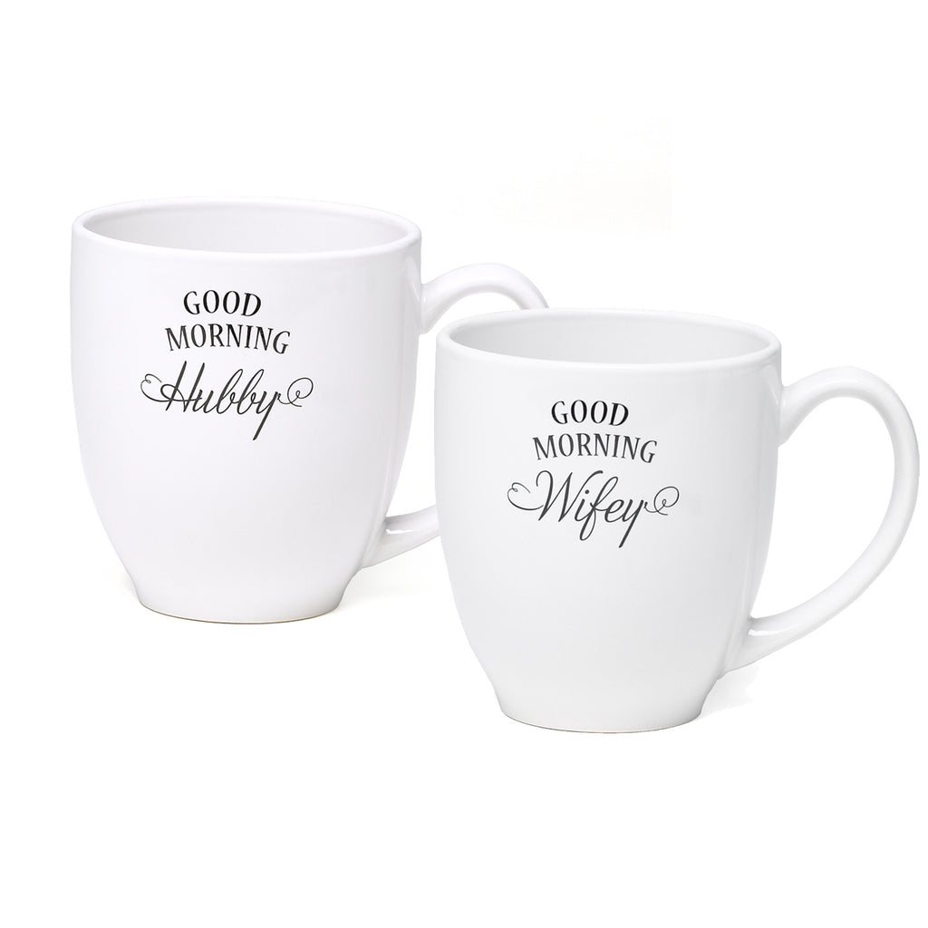 Good Morning Wifey/Hubby Mug Set