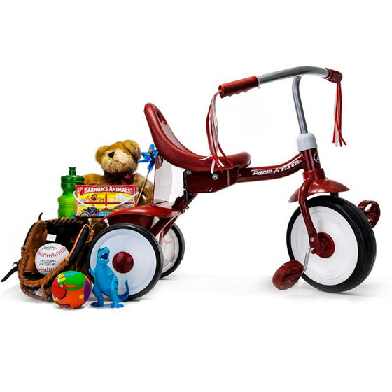 Radio Flyer Wagon - Tricycle and Treats - Toys for Boys and Girls