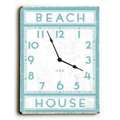Beach House Unique Wall Clock
