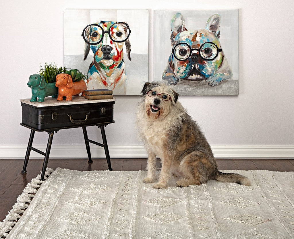 Doggone Dogs Oil Painting - Winston