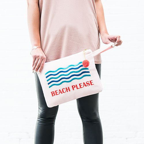 Bikini Travel Bag - Beach Please - Wet Bikini Bags