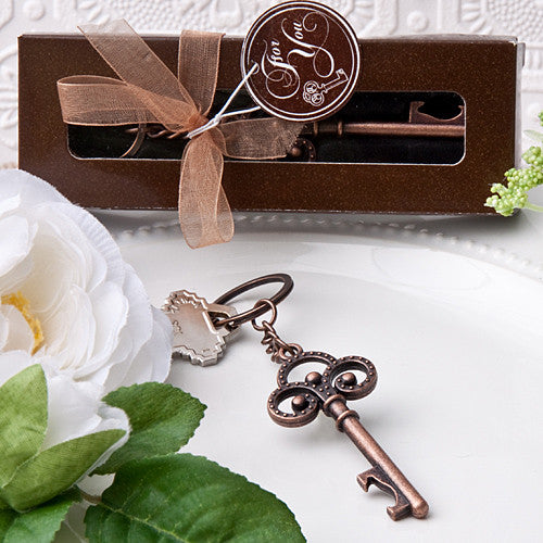 Vintage Skeleton Key Wedding Favors