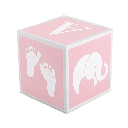 Baby Girl Keepsake Block - Gifts for Baby Girls