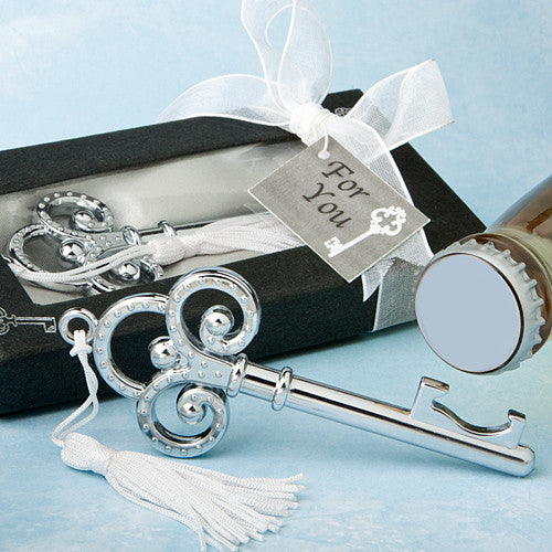 Key to My Heart Bottle Opener Favors