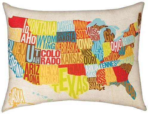 Across the Country Pillow